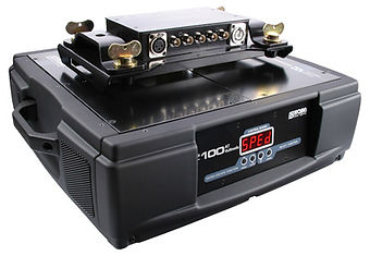 Robe's Media Spinner 100 AT can load a maximum of 100kg. If you're looking to load lighter equipment on, we have a 50 AT available to hire at Colour Sound Experiment, London.