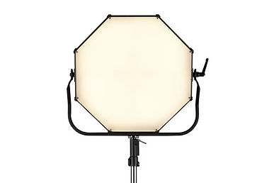 Space Force can be used as a soft lighting panel when mounted on the yoke. Hire at Colour Sound Experiment, London.