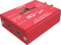 The MD-LX is a pocket sized HDMI / SDI Bi-directional converter.  ​​​