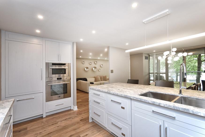 Inside Kitchen View