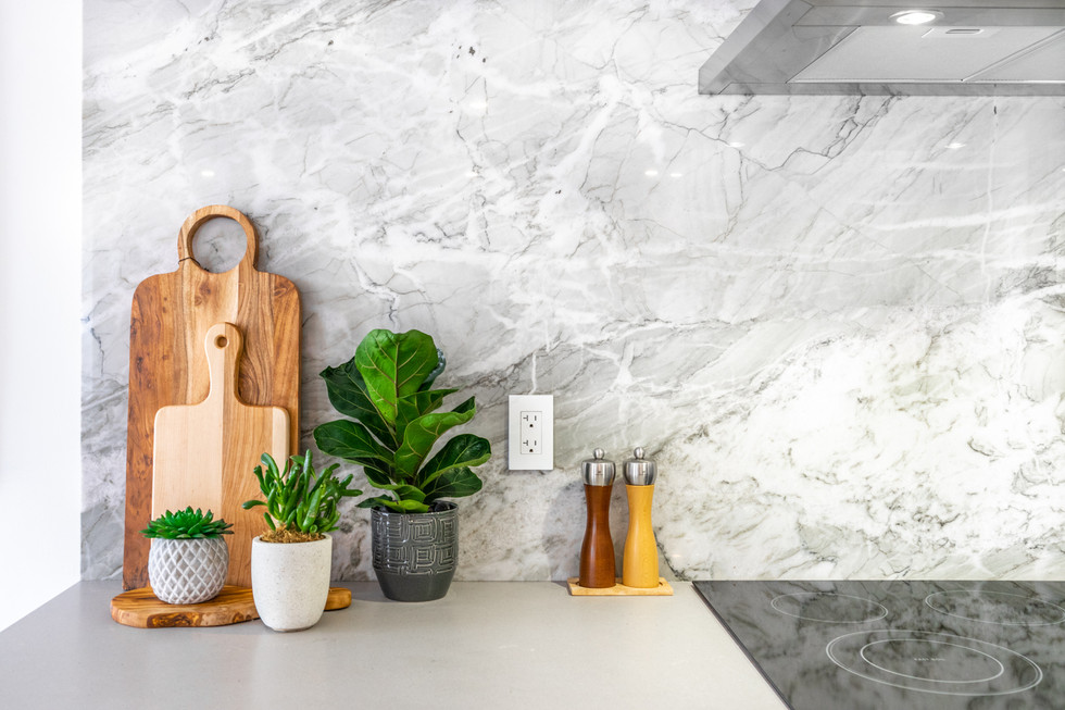 Feature Marble Wall
