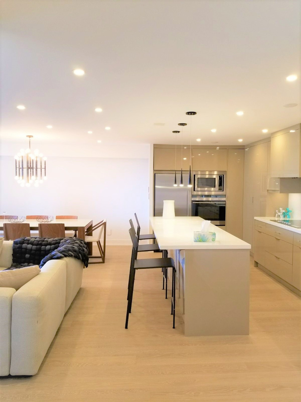 Living/Kitchen Space