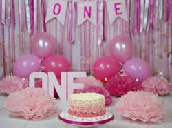 Smash Cake - Rose Swirl