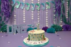 Cake Smash - mermaid