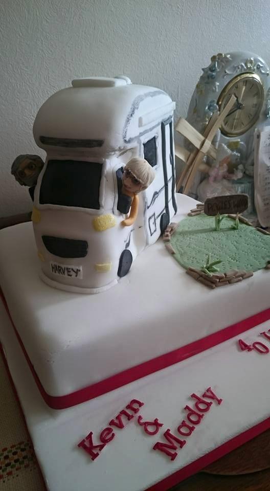 camper cake