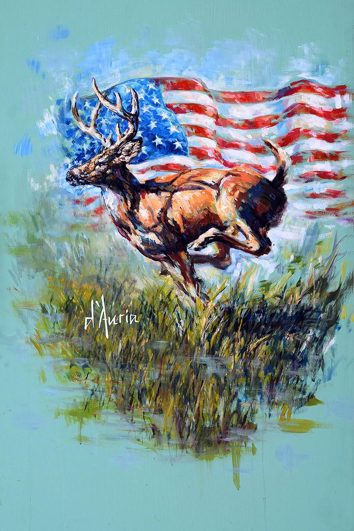 Americana-Deer-dauria-american-flag-hunt