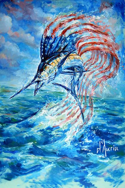 Sailfish-americana-american-flag-america