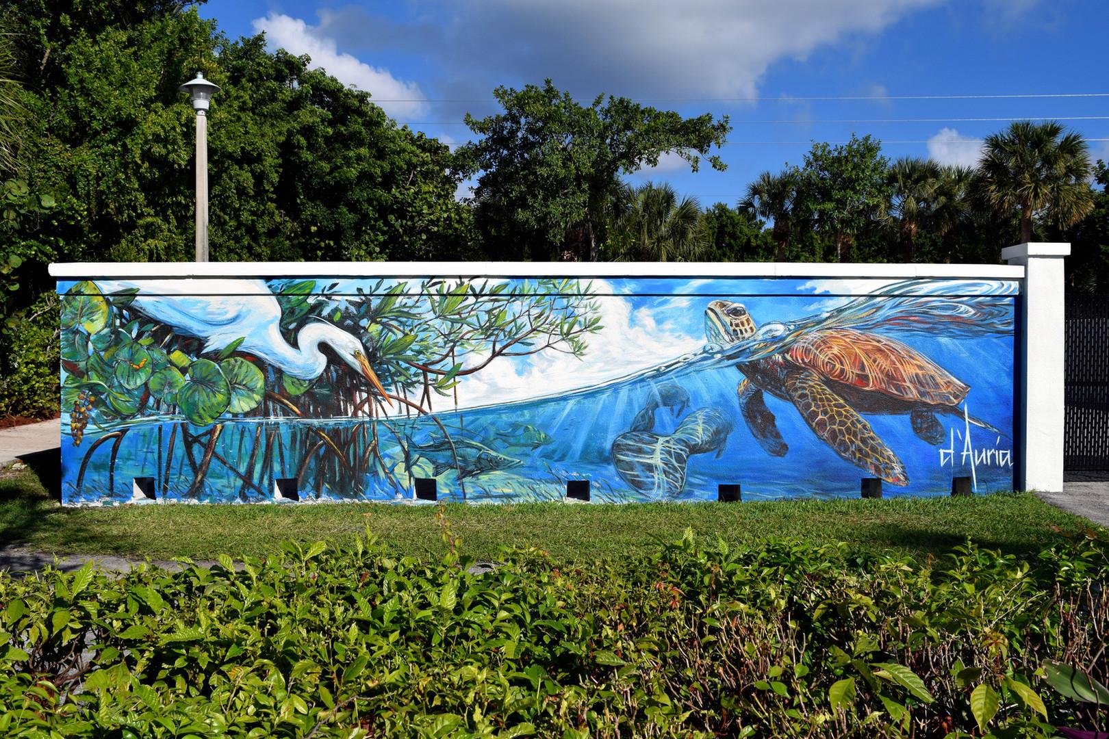Red Reef Park Mural