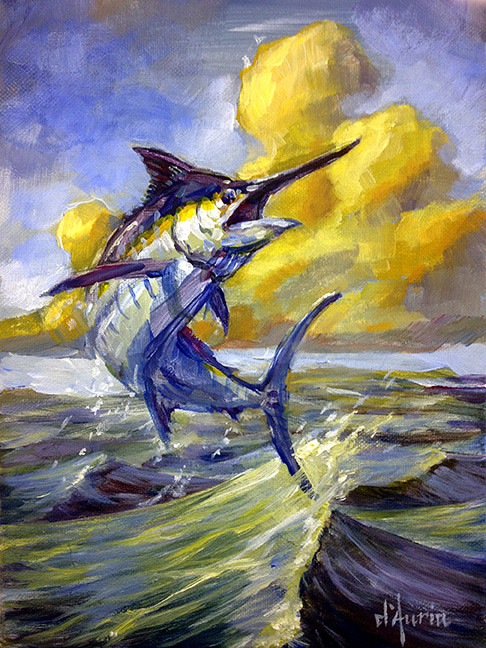 Eventide-Marlin-commission-acrylic-dauri