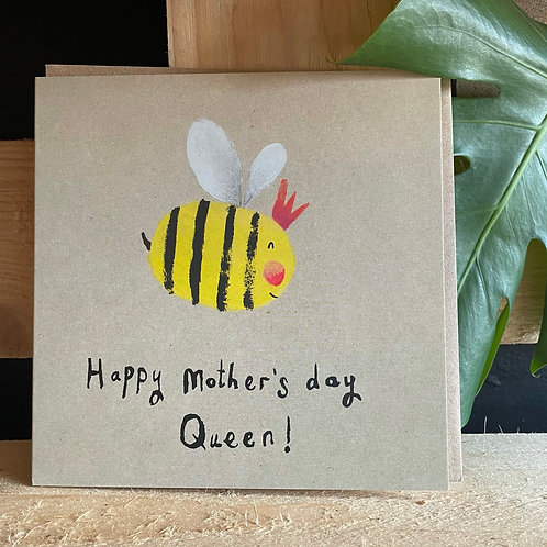 Happy Mother's Day Queen! Card