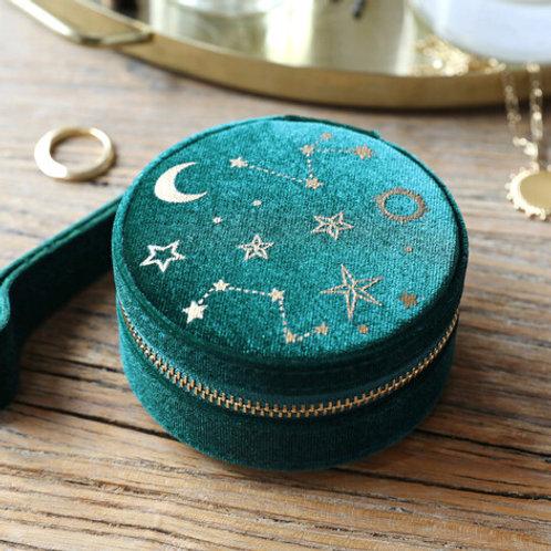Green Round Mini Jewellery Box