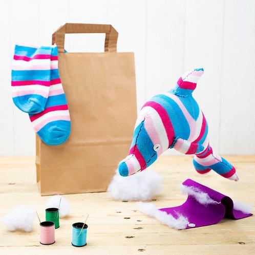 Sock Dolphin Craft Kit