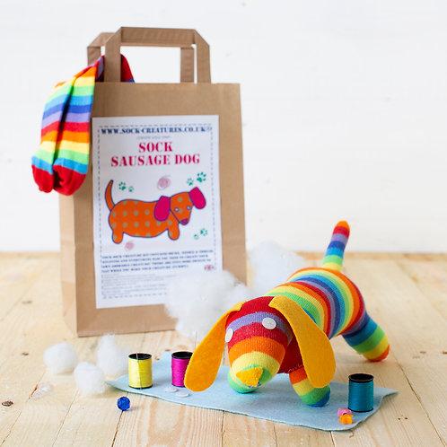 Sock Sausage Dog Craft Kit
