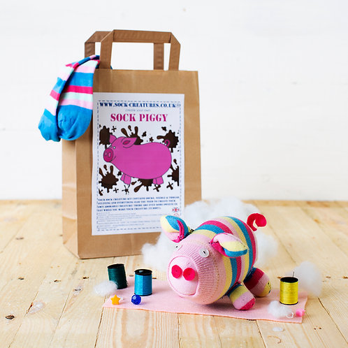 Sock Piggy Craft Kit