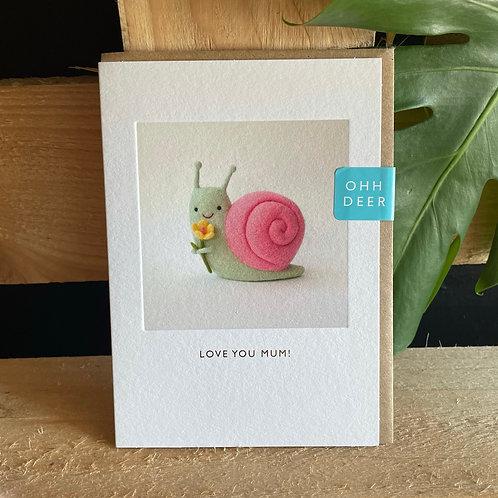 Love you Mum! Card
