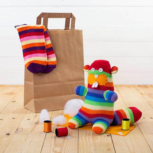 Sock Beaver Craft Kit
