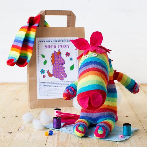 Sock Pony Craft Kit