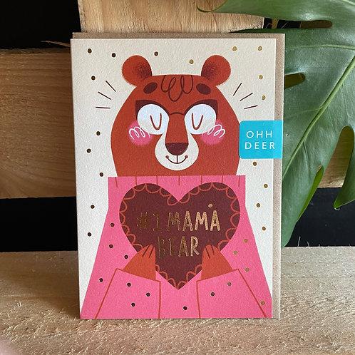#1 Mama Bear Card