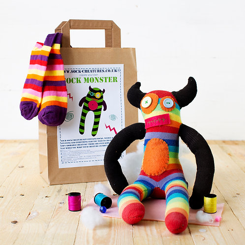 Sock Monster Craft Kit