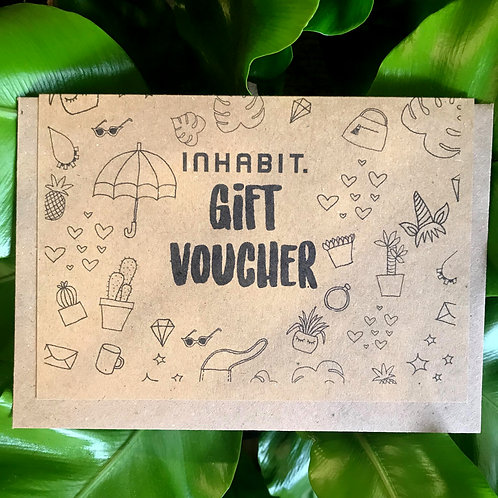 In-store Gift Voucher