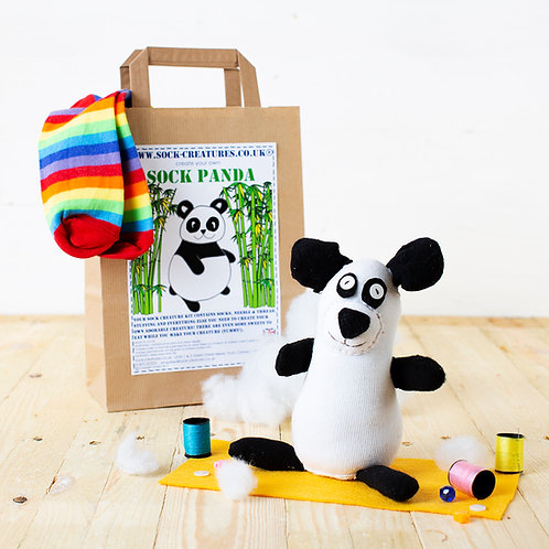 Sock Panda Craft Kit