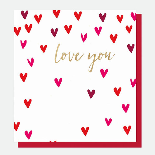 'Love you' Valentines Card