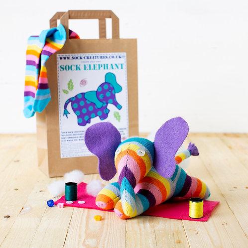 Sock Elephant Craft Kit