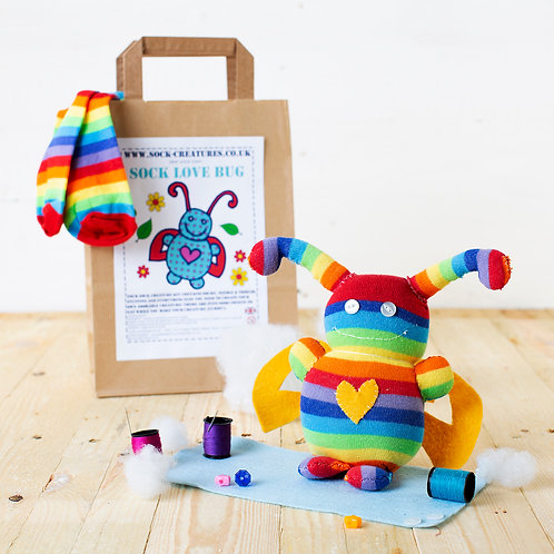 Sock Love Bug Craft Kit