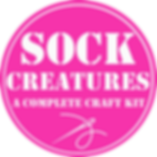 Sock Creatures a complete craft kit