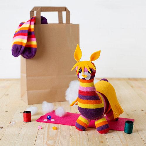Sock Llama Craft Kit