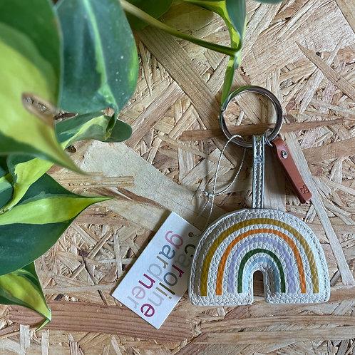 Caroline Gardner Rainbow Keyring