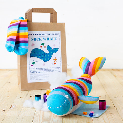 Sock Whale Craft Kit