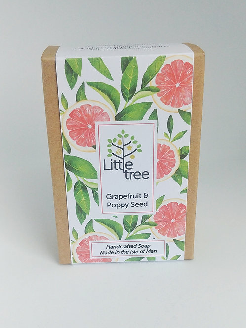 Grapefruit & Poppy Seed Soap