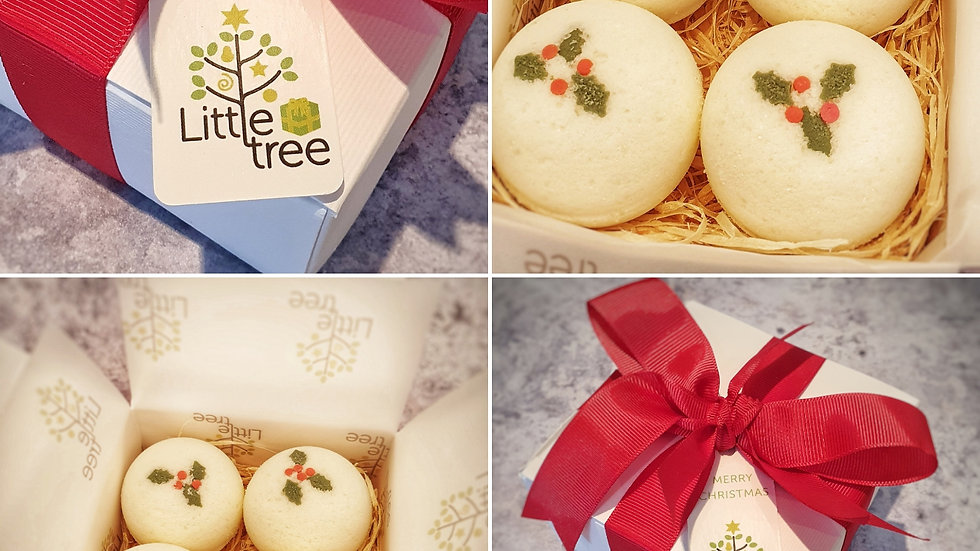 Merry Berry Bath Bomb Gift Box