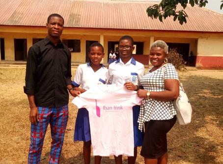 Scholarship Recipients: Stephanie Igwe & Helen Paul