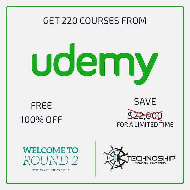Programming & Ethical Hacking ONLINE COURSES FROM UDEMY FOR FREE