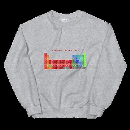 BTS Periodic Table Crew Neck Sweatshirt