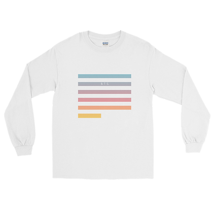 BTS Gradient - Long Sleeve T-Shirt