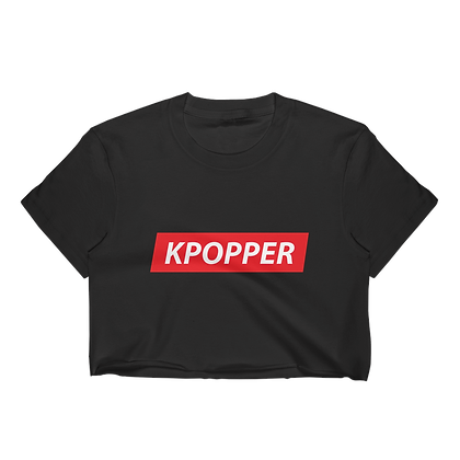 Kpopper Red - Crop