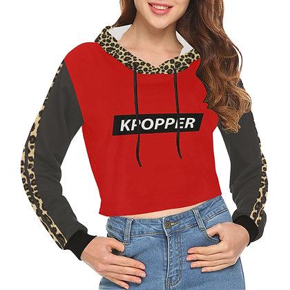 K-Popper Cool - Crop Hoodie