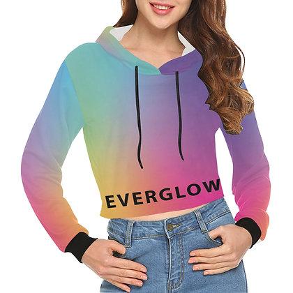 EVERGLOW Rainbow Gradient - Crop Hoodie