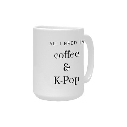 Coffee & K-Pop Mug