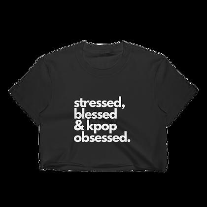 Kpop Obsessed- Crop