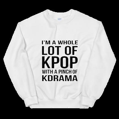 Lot of K-Pop Crew Neck Sweatshirt