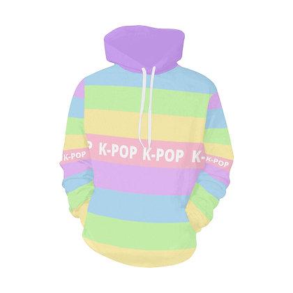 Rainbow Pastel K-Pop Hoodie