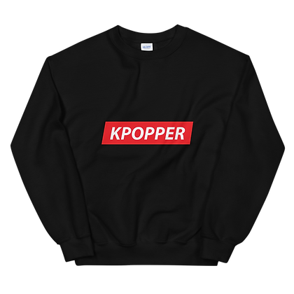 K-Popper Crew Neck Sweatshirt