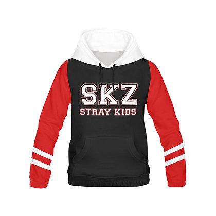 Stray Kids Varsity Color Block Hoodie