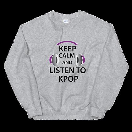 Keep Calm Crew Neck Sweatshirt