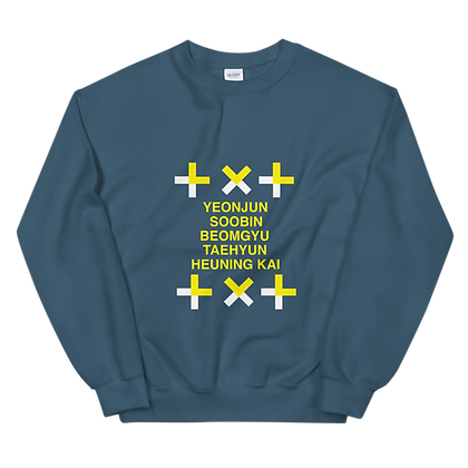 TXT Members - Crew Neck Sweatshirt