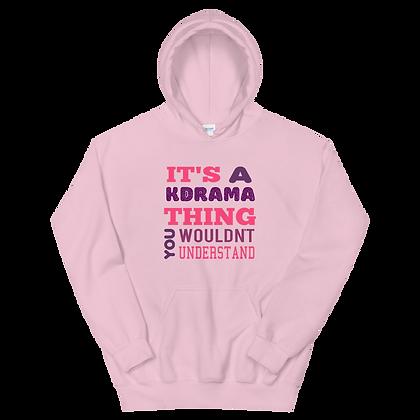 K-Drama Thing (Pink) Hoodie